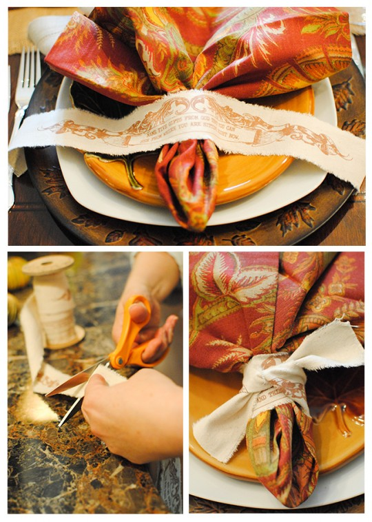 Untie Your Story Napkin Ties
