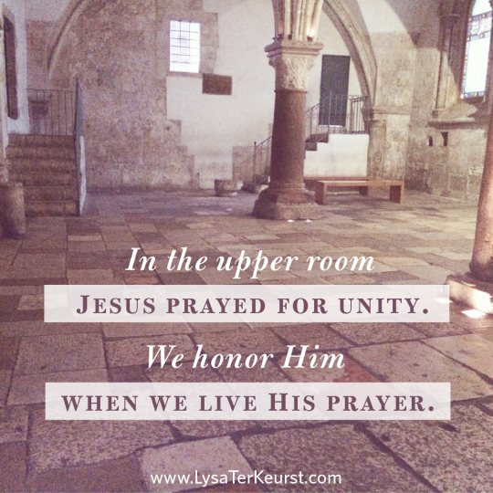 Jesus' Prayer for You at the Upper Room