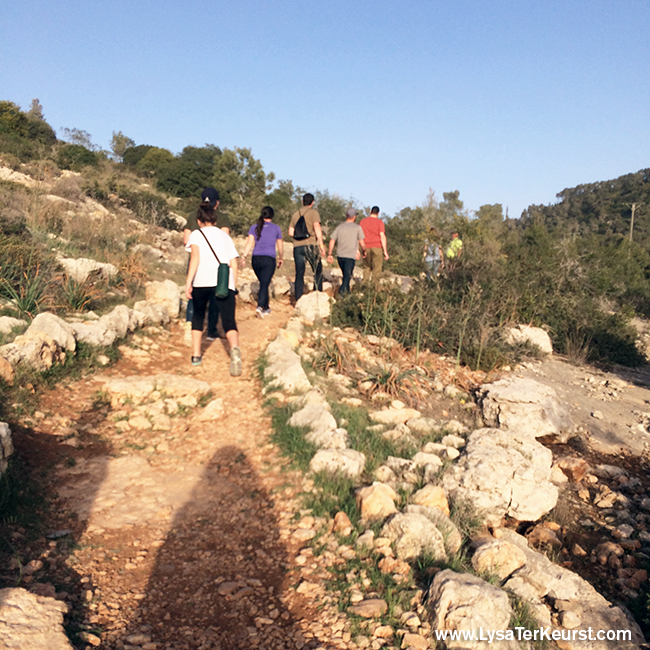 Day 3 in the Holy Land with Lysa TerKeurst