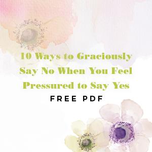 Graciously Say No